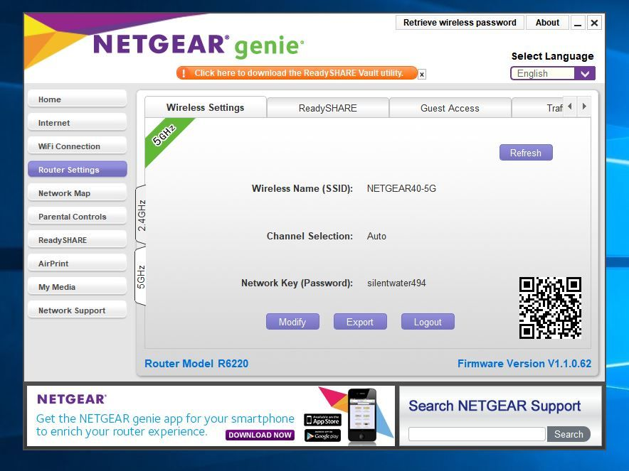 Cant log in after Firmware update R6220 - NETGEAR Communities