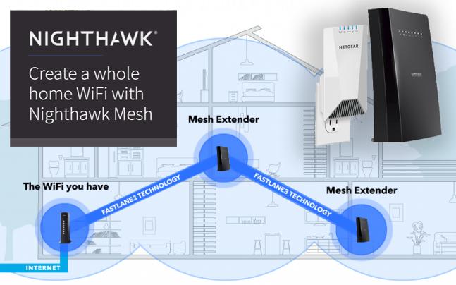 nighthawk wifi extender setup