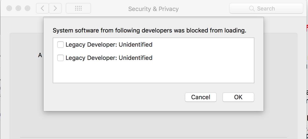 ReadyCloud Desktop App on macOS High Sierra not wo
