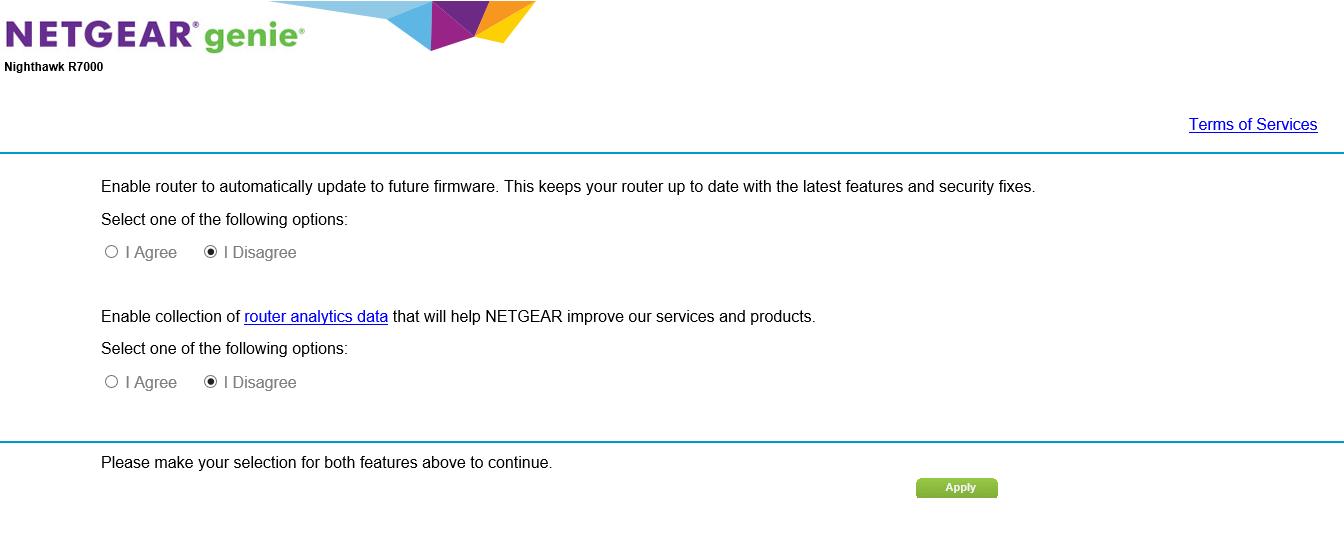 Solved: Feedback for R7000 New firmware 1 0 9 18 - NETGEAR