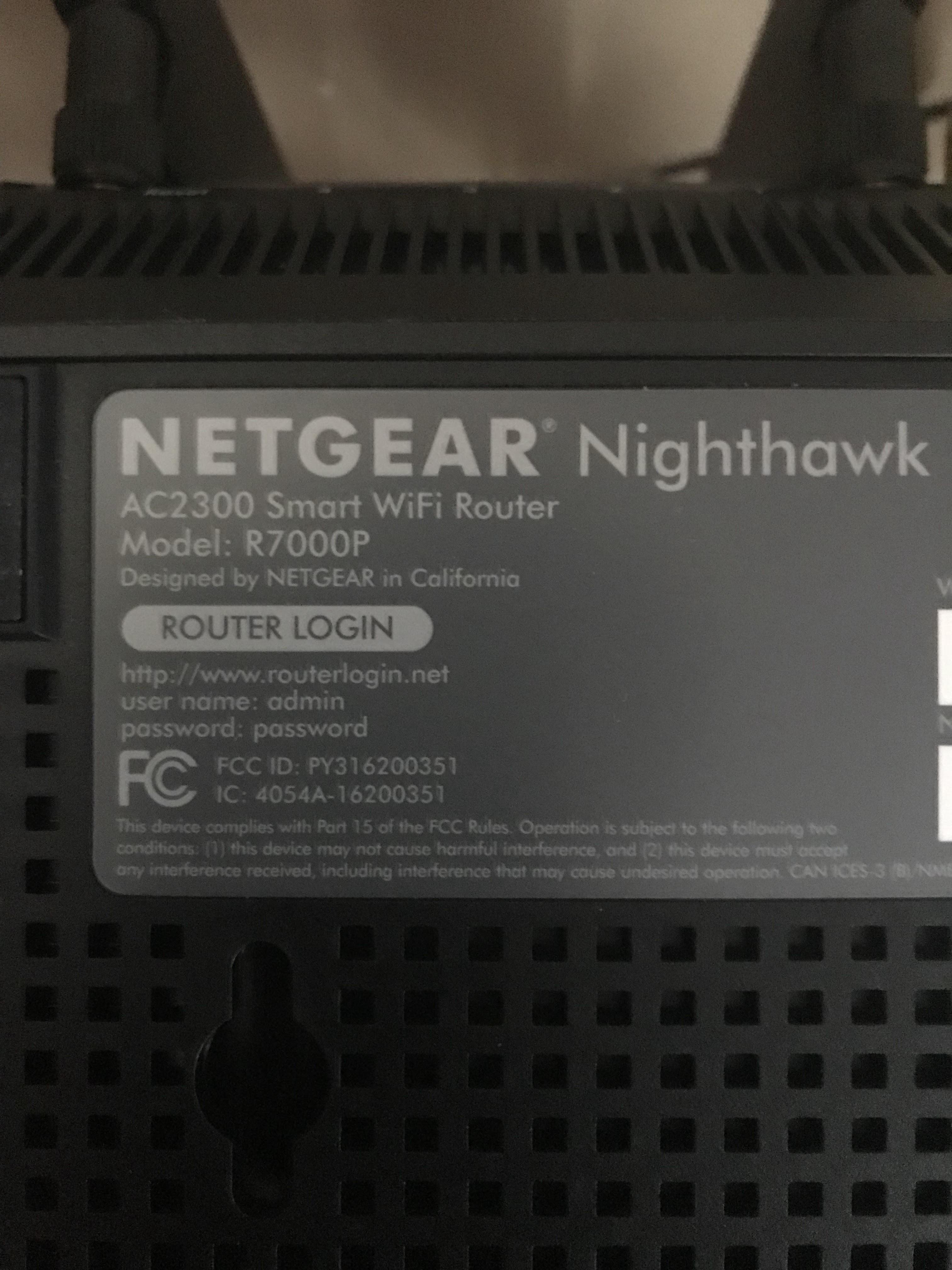 Nighthawk router won\'t connect to internet - NETGEAR Communities