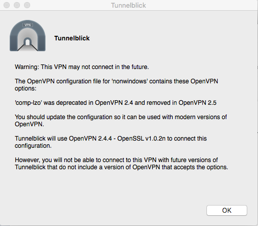 Tunnelblick 3 7 5 and Nighthawk X6 R7900 - NETGEAR Communities
