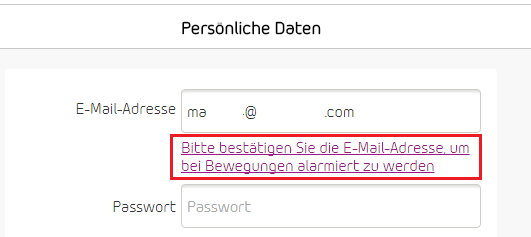 Suche nach Daten-E-Mail-Adresse