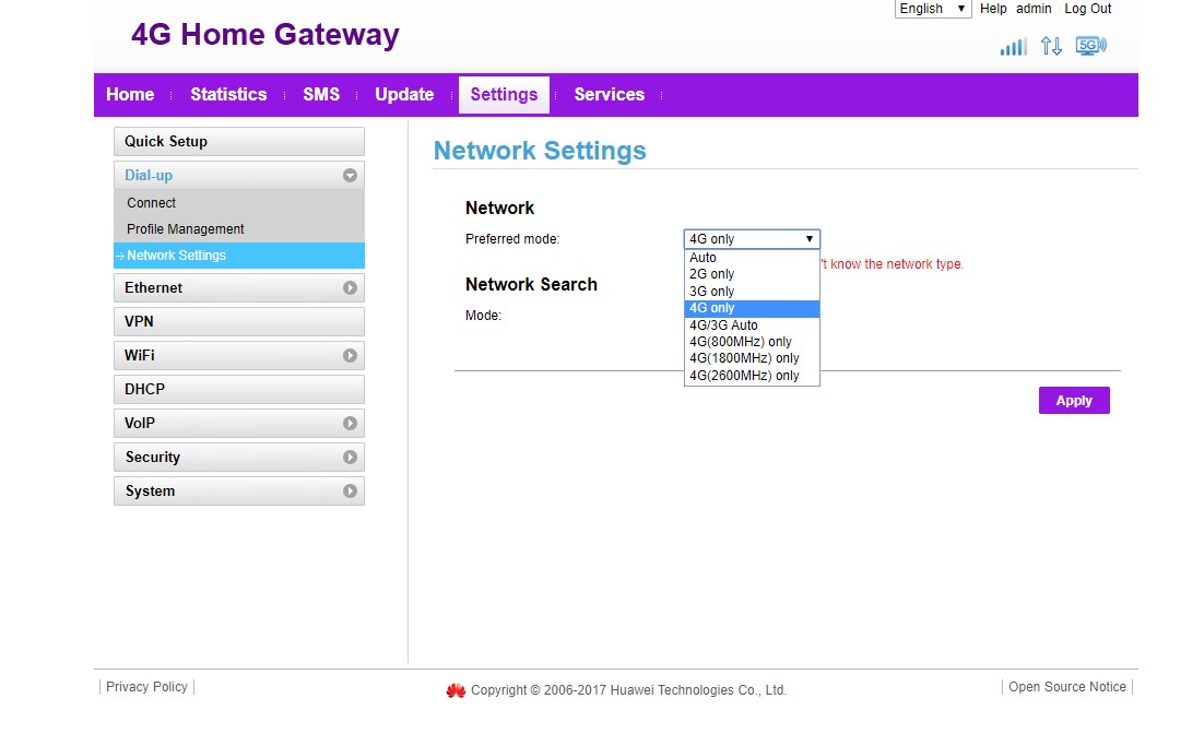Nighthawk M1 - selection of LTE Frequency/Band - NETGEAR Communities