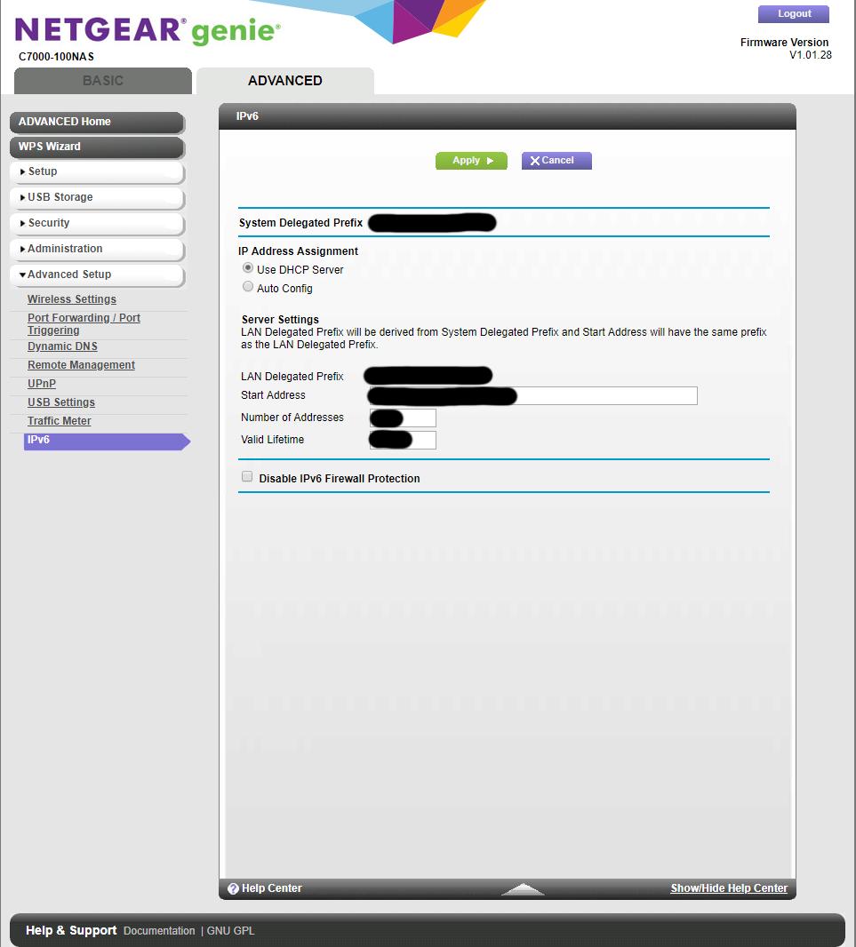 Solved: Setting IPv6 DNS - NETGEAR Communities