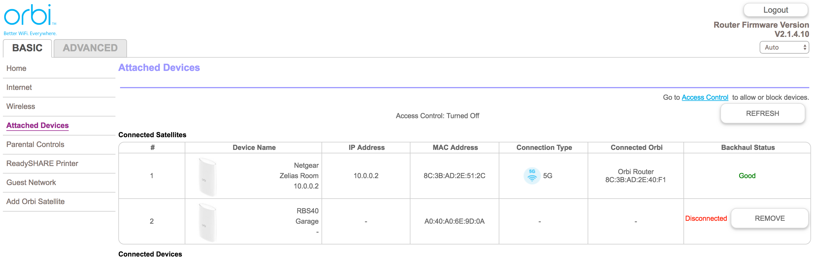 How do you set up an Orbi Satellite via Ethernet? - NETGEAR