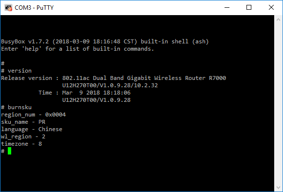 Enabling telnet on R7000 - NETGEAR Communities