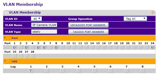 Separate uplink port for each VLAN - NETGEAR Communities