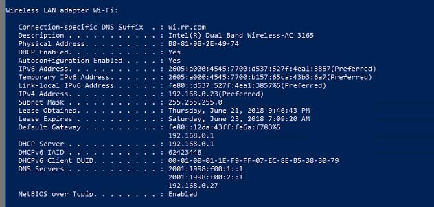 Nighthawk C7000 set IPv6 DNS enteries - NETGEAR Communities