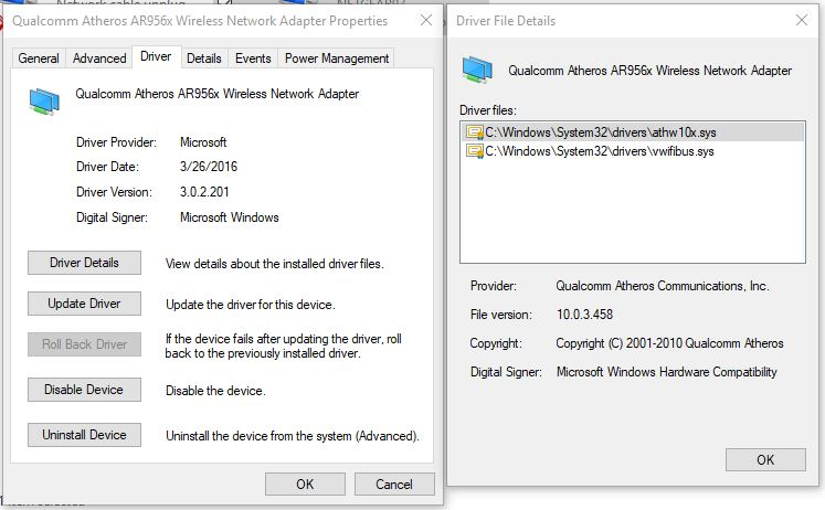 Atheros wireless network adapter for windows 10 | Atheros