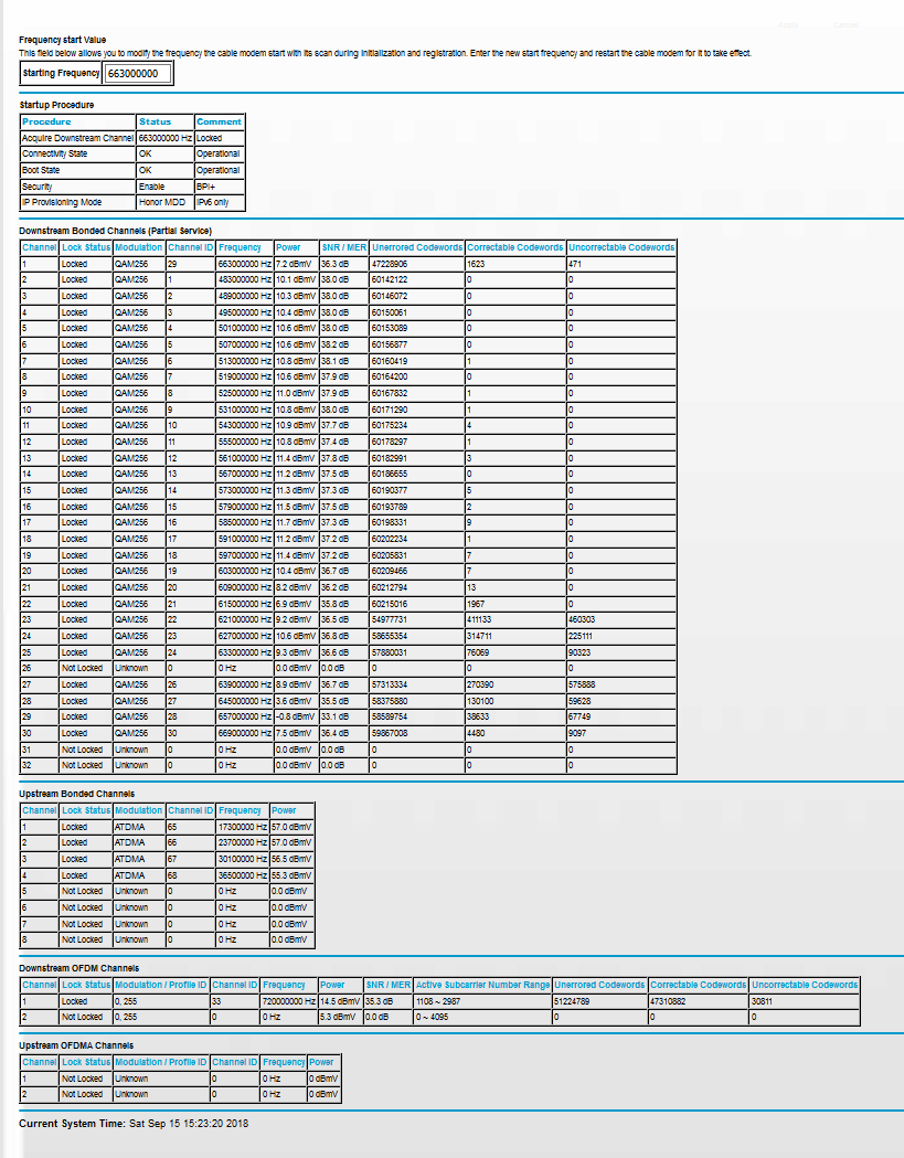 Re: CM1000 Xfinity issues - NETGEAR Communities