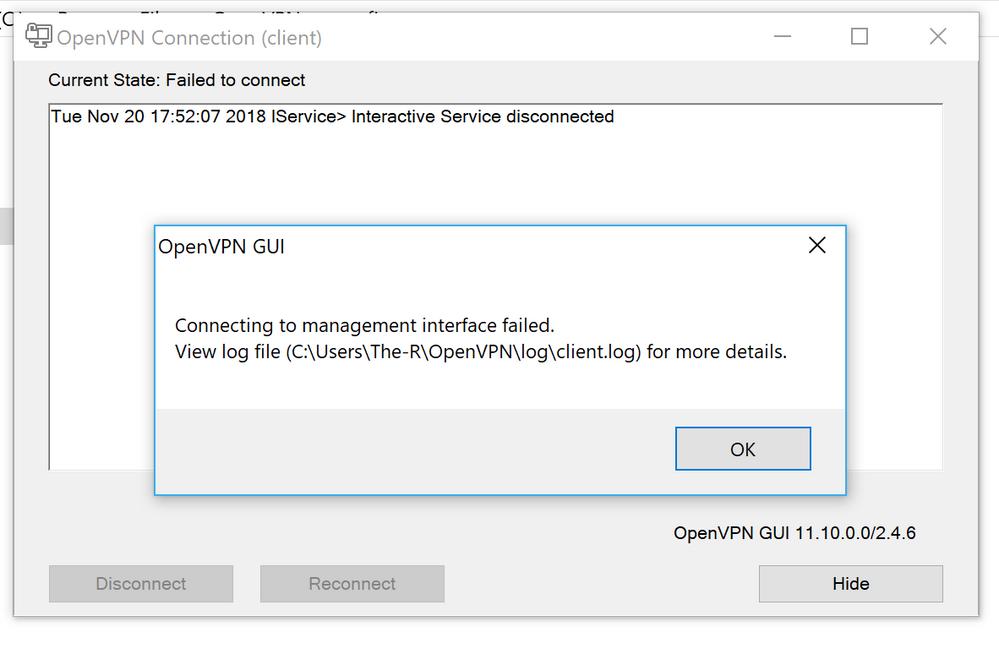 Solved: Re: OpenVPN Not connecting in Orbi system - NETGEAR