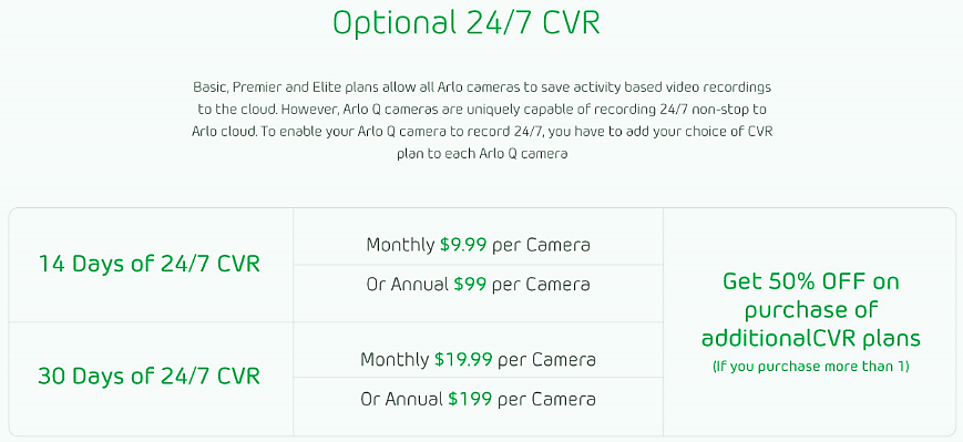 What Are The Available Arlo Subscription Plans And How