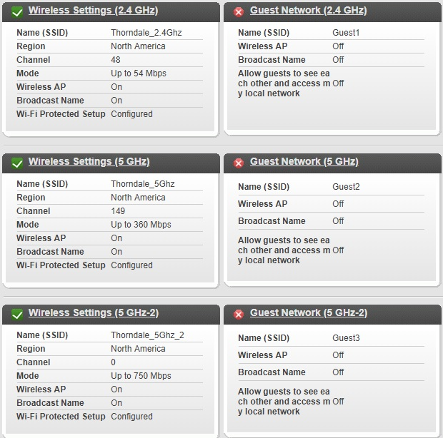 R8000P won't broadcast 2 4Ghz on channels 1-11 - NETGEAR