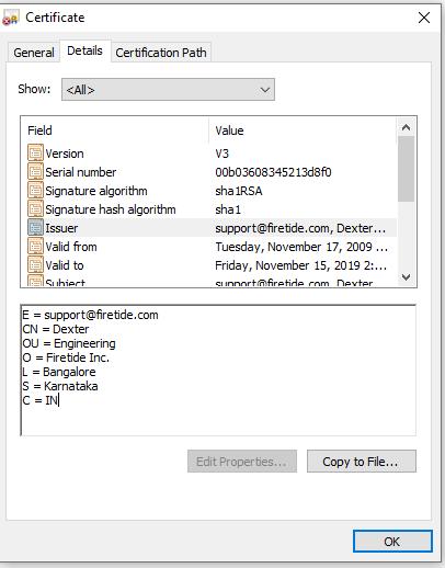 WC7500 SSL Certificate is hacked! - NETGEAR Communities