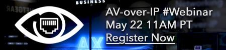 AV over IP Webinar