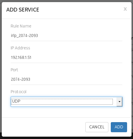 Port forwarding range syntax - NETGEAR Communities