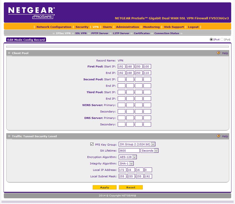 Solved: FVS336Gv3 - L2TP/IPsec on Windows 10 - NETGEAR