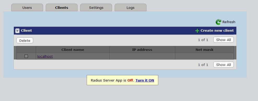 free Radius server - NETGEAR Communities