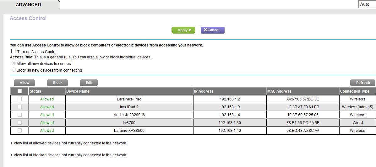 Solved: Device Names are not appearing in Netgear Genie fo