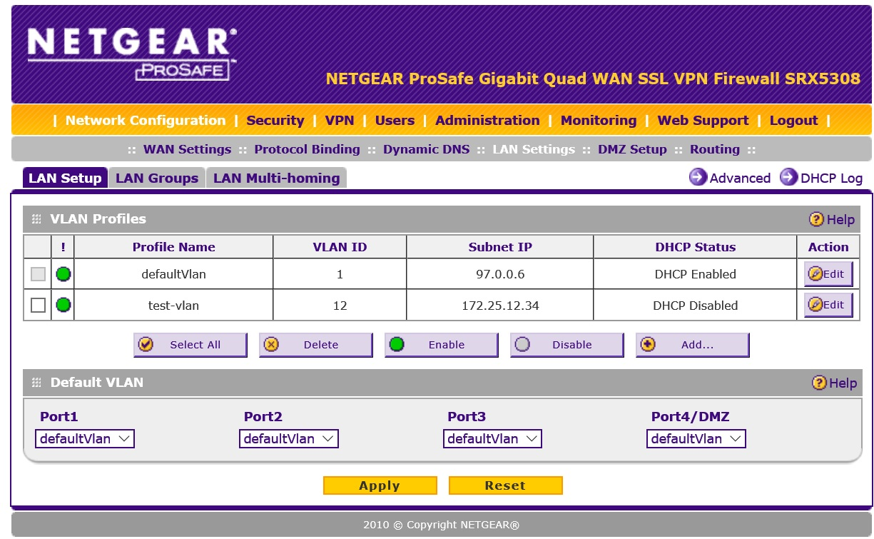 Which Routers Support VLAN? - NETGEAR Communities