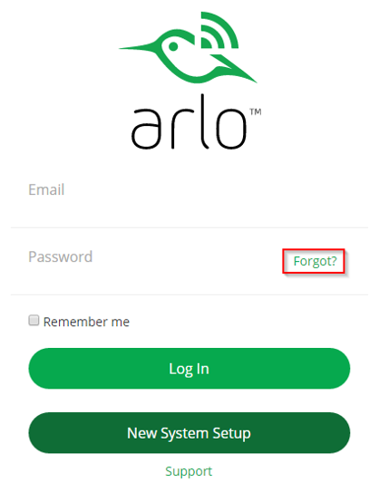 how to change my netgear password