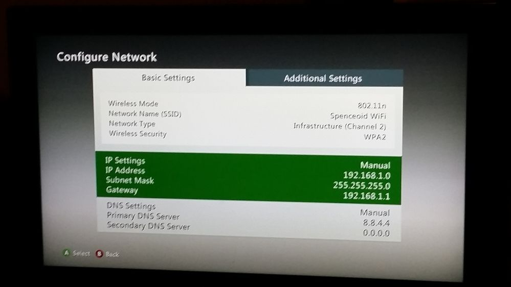 how to connect my nas to my xbox 360