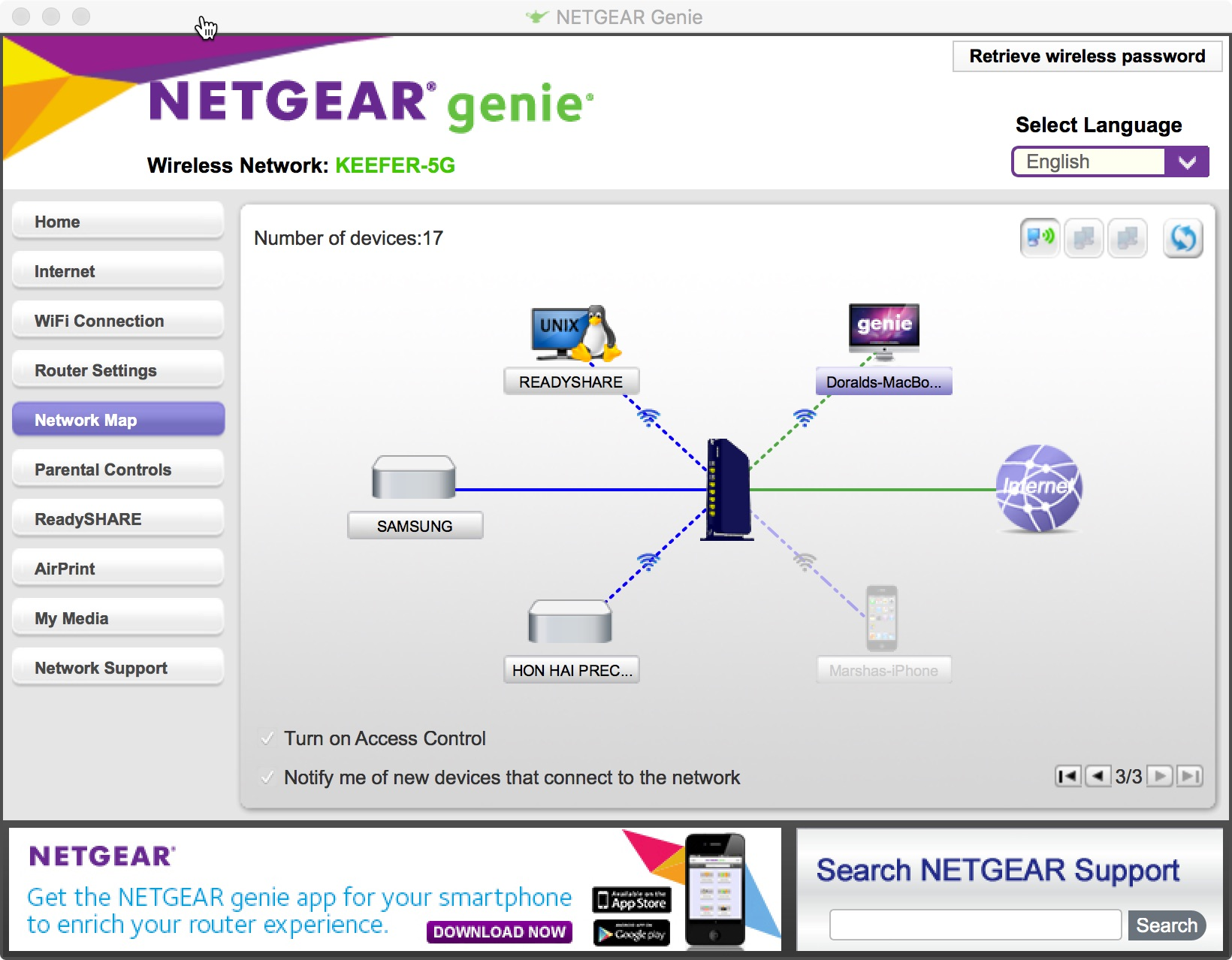 Solved: Netgear Genie - Network Map showing strange connec