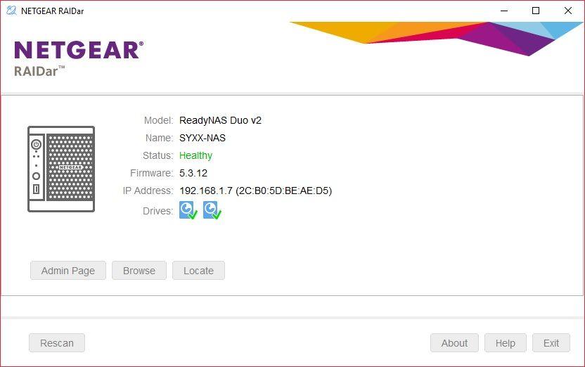 HELP] ReadyNAS Duo v2 - Cannot Raid 0, keeps doin
